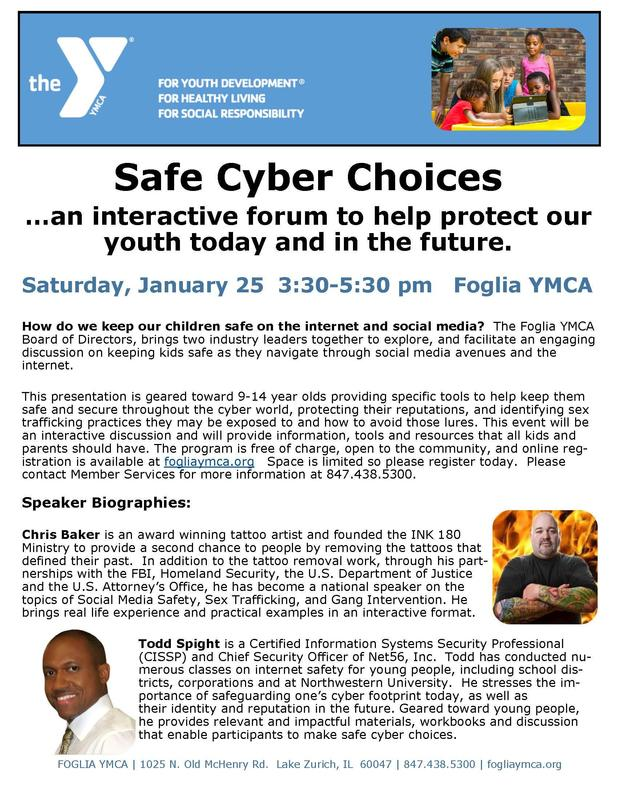 Safe cyber choices flyer