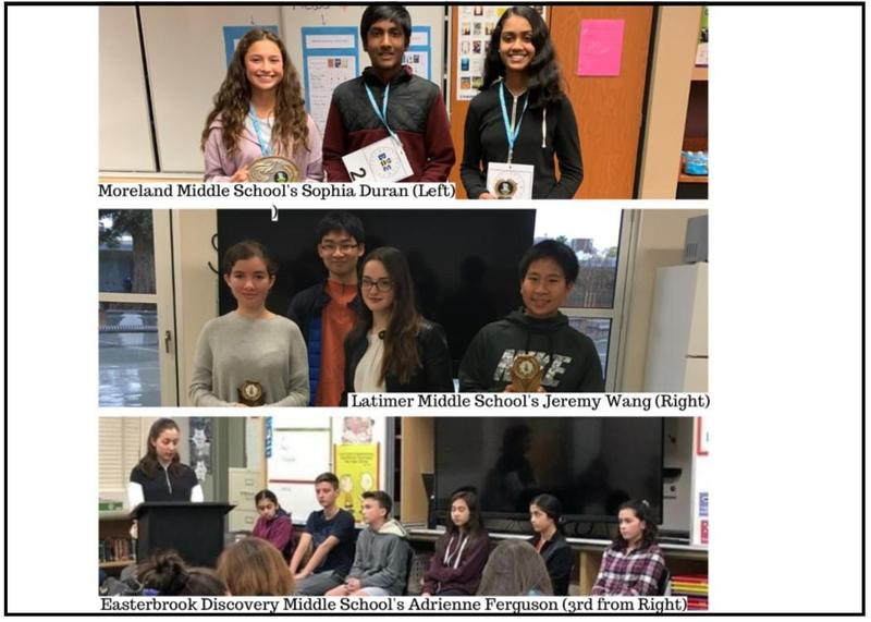Top 8th Grade Spelling Bee Champions Compete for Bay Area Recognition Thumbnail Image