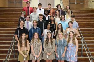 SVHS Top 15 percent Graduates 2021