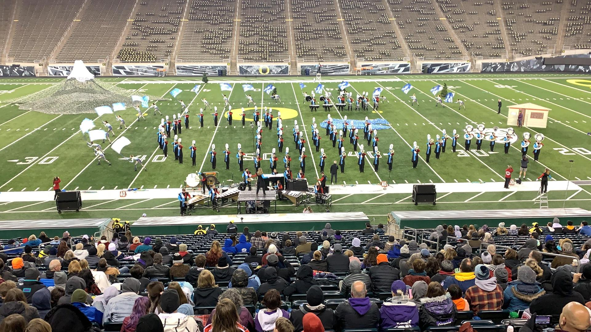 Marching Band at U. of Oregon
