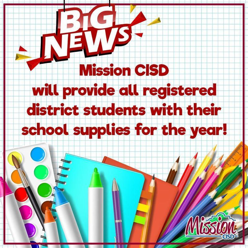 District to provide all enrolled students with school supplies this year Featured Photo