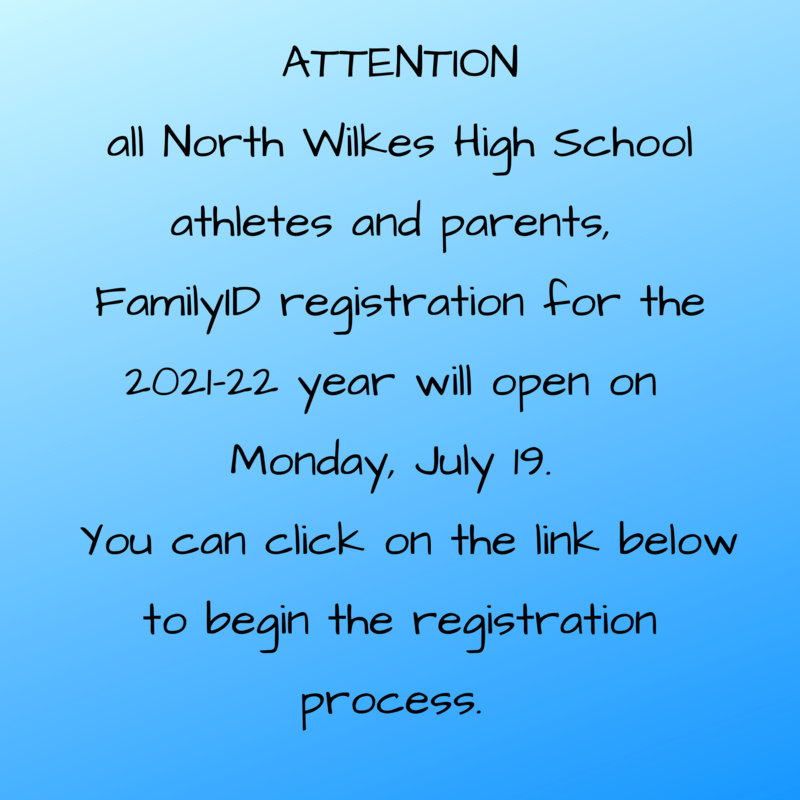 Family ID for Athletes & Parents - CLICK HERE FOR INSTRUCTIONS Thumbnail Image