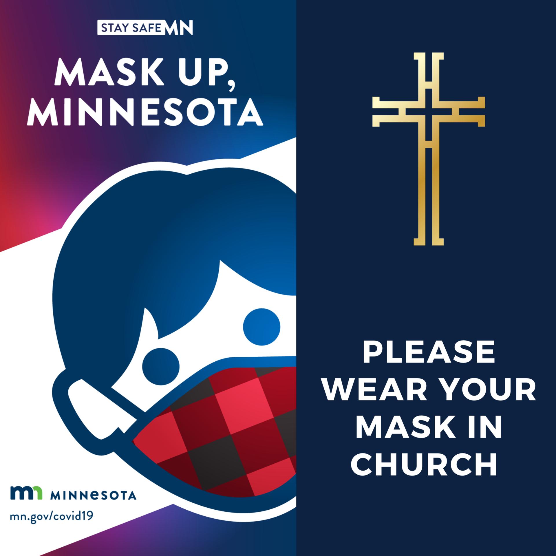 Wear Mask IN church