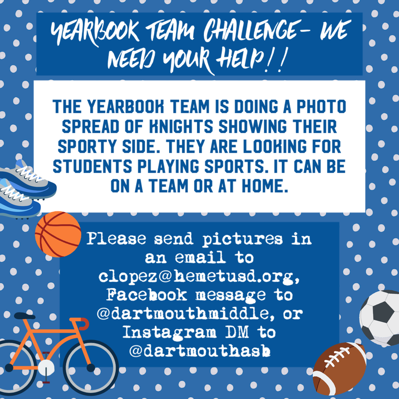 Yearbook Picture Information