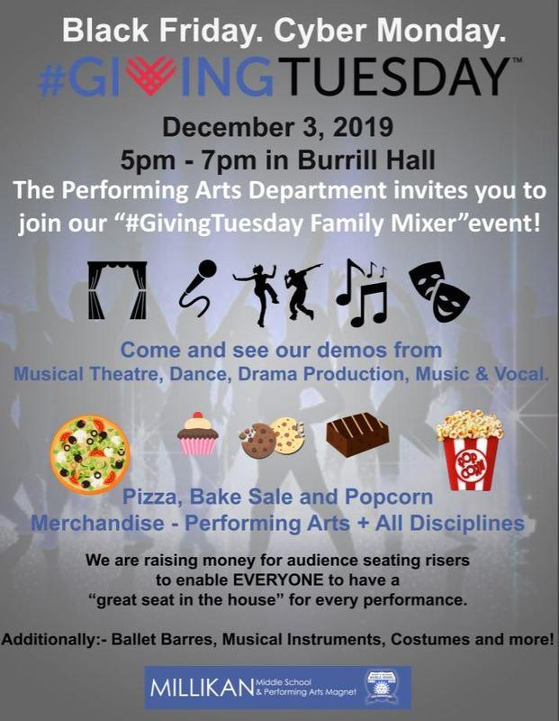 Performing Arts Academy and Magnet Giving Tuesday Family Mixer Featured Photo