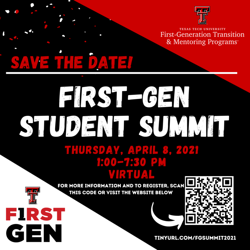 Virtual Summit for First Generation College Students Featured Photo