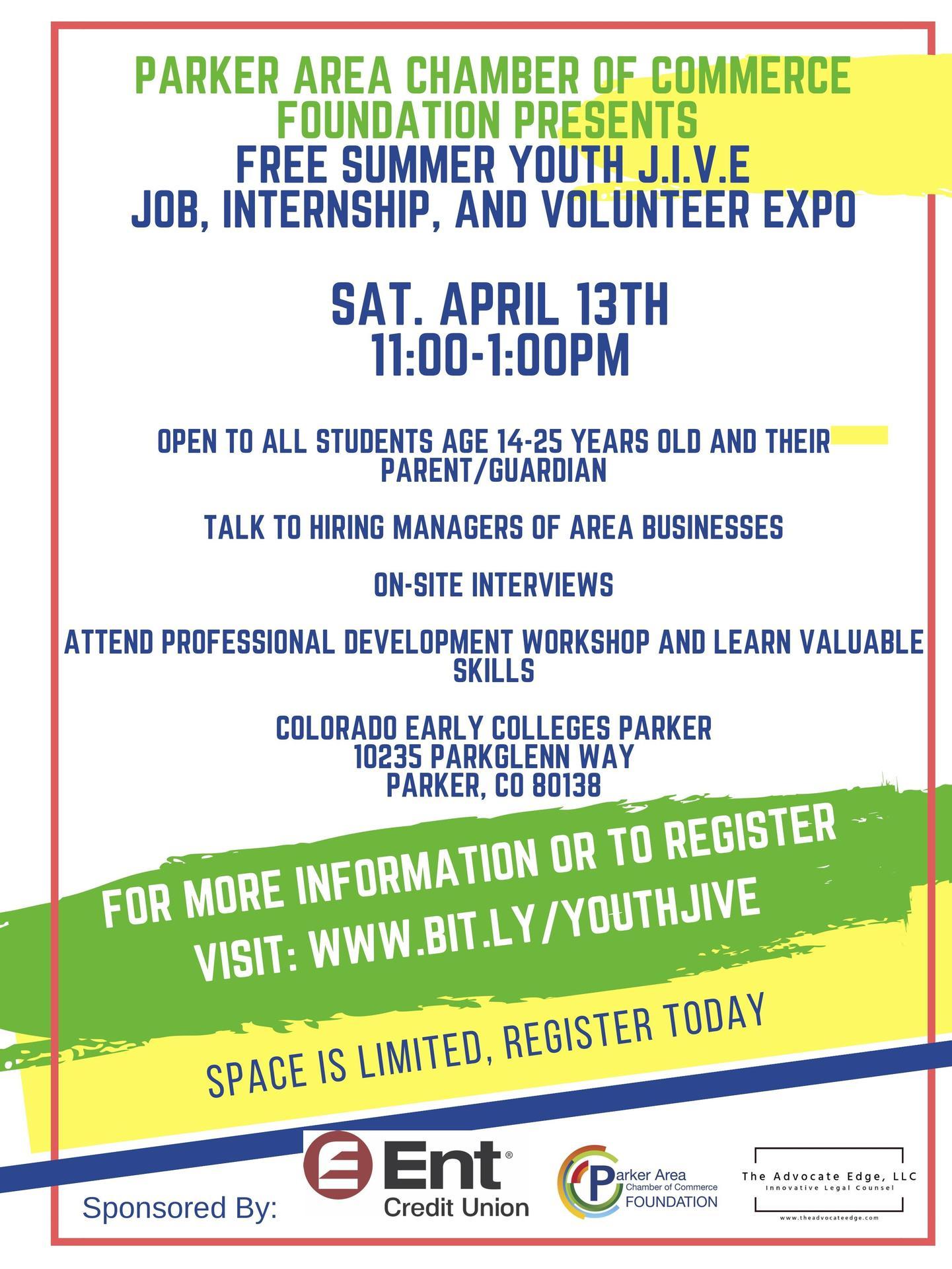 Summer Job And Internship Fair Miscellaneous Cec Parker