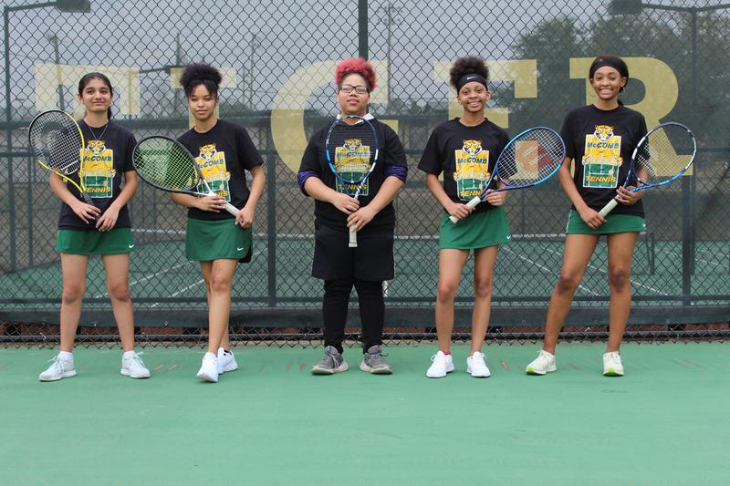 The McComb High School tennis team won the District Championship and 7 of those scholars will advance to the Individual State Championships in Oxford, MS. on April 26th and 27th.