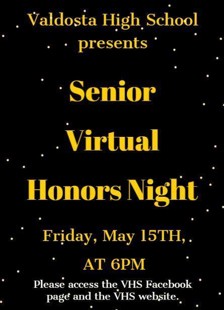 Senior Virtual Honors Night