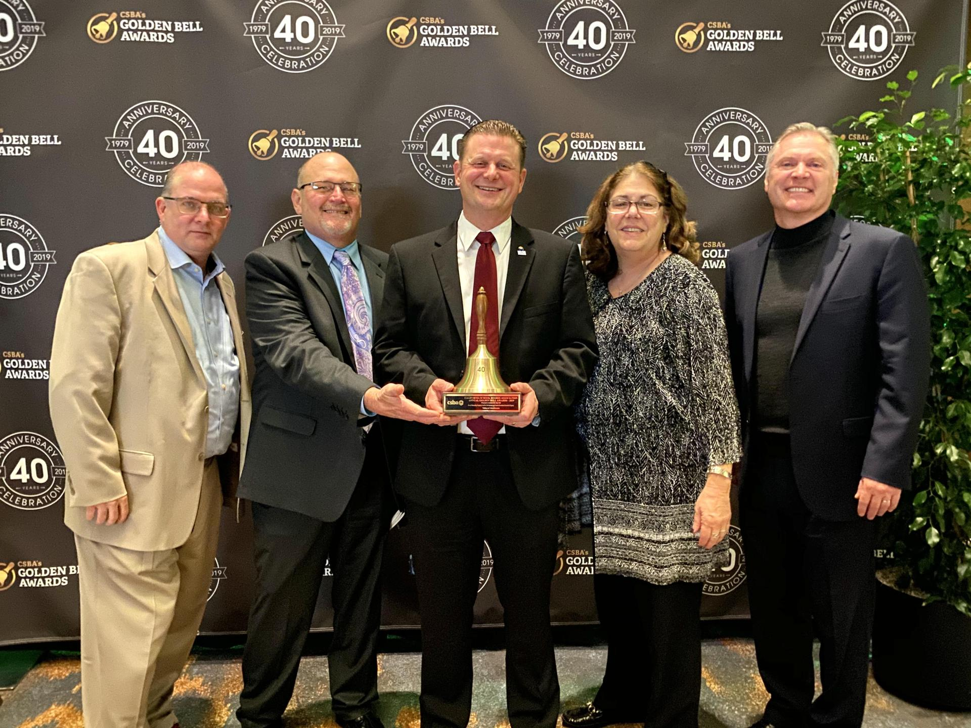 CSBA Golden Bell 2019 LUSD Board