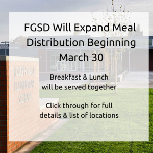 FGSD To Expand Meal Distribution