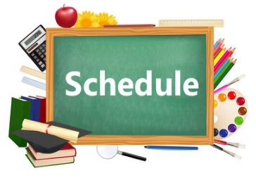 schedule word