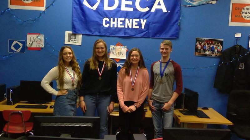 DECA QUALIFIES 7 FOR STATE Thumbnail Image
