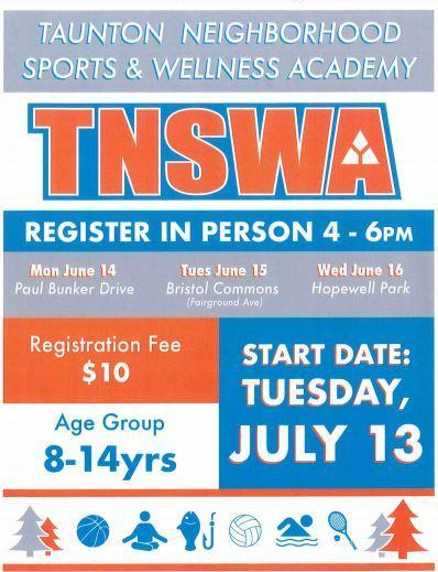 Check out the Taunton Neighborhood Sports & Wellness Academy! Featured Photo