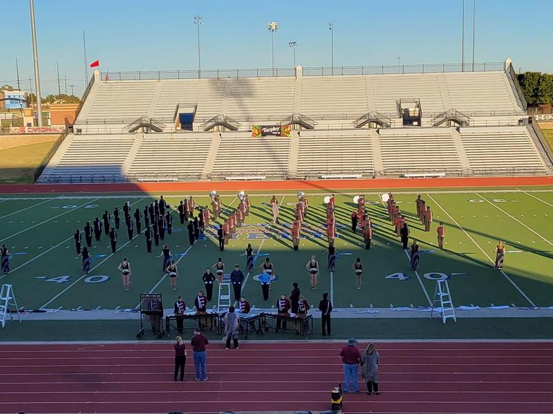 Abernathy High School Band Receives A Division 1 at Contest Featured Photo