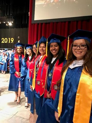 East Bakersfield High School graduation
