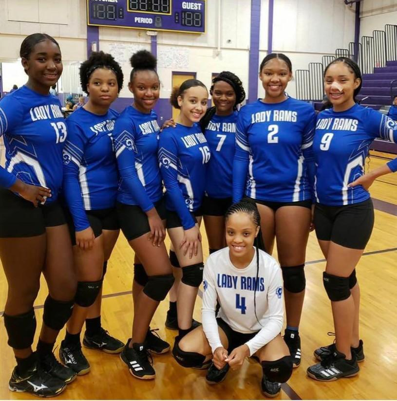 Volleyball Team Game Picture 2019