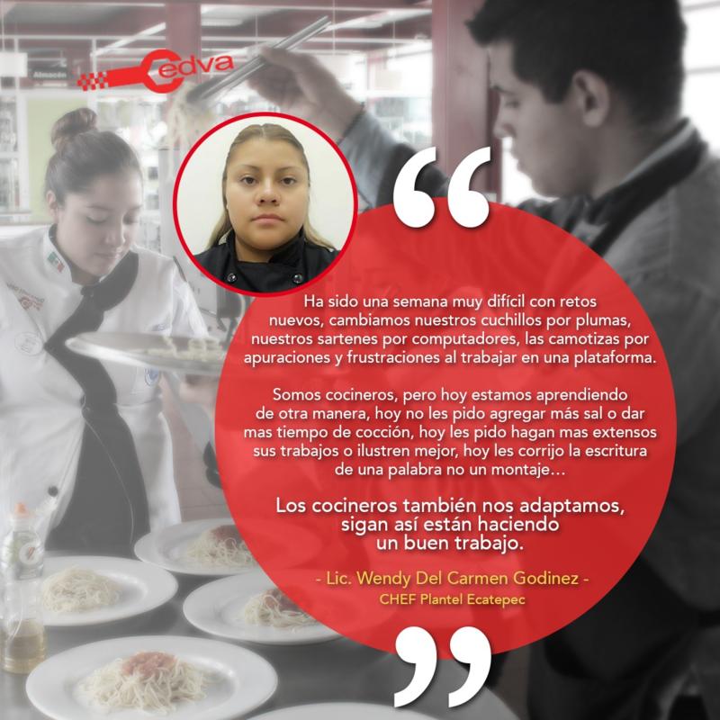 Mensaje de Nuestra Chef, Campus Ecatepec Featured Photo
