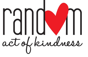 An image of the words Random act of Kindness