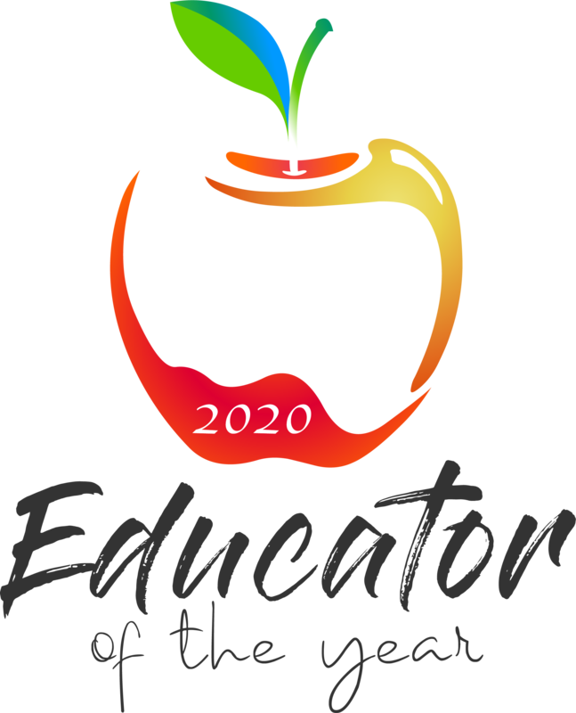 2020 Educator of the Year Logo image