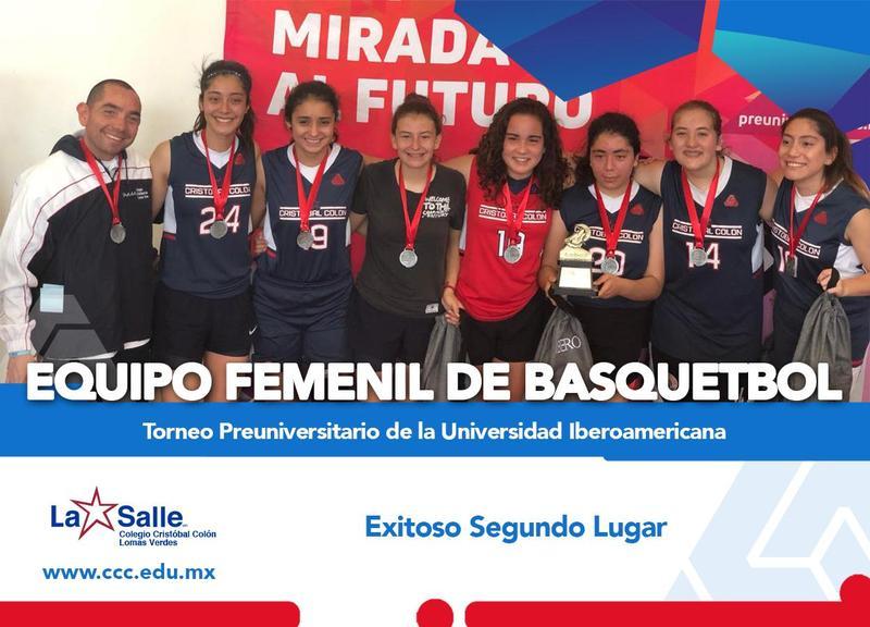 Felicidades al Equipo Femenil de Basquetbol Preparatoria Thumbnail Image
