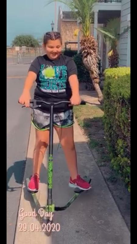 staying active on a scooter