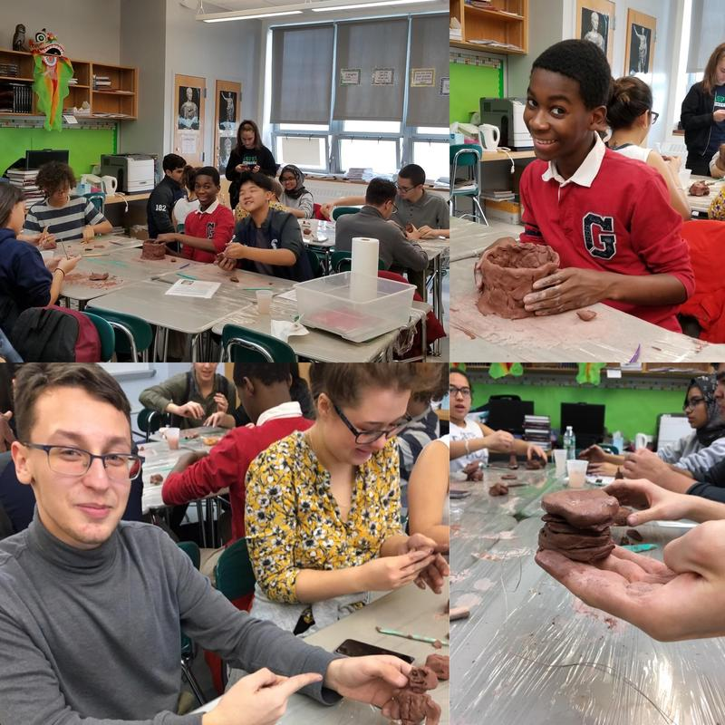 Maspeth High Classics Club Creates With Clay Featured Photo