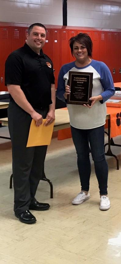 Contribution Award Image