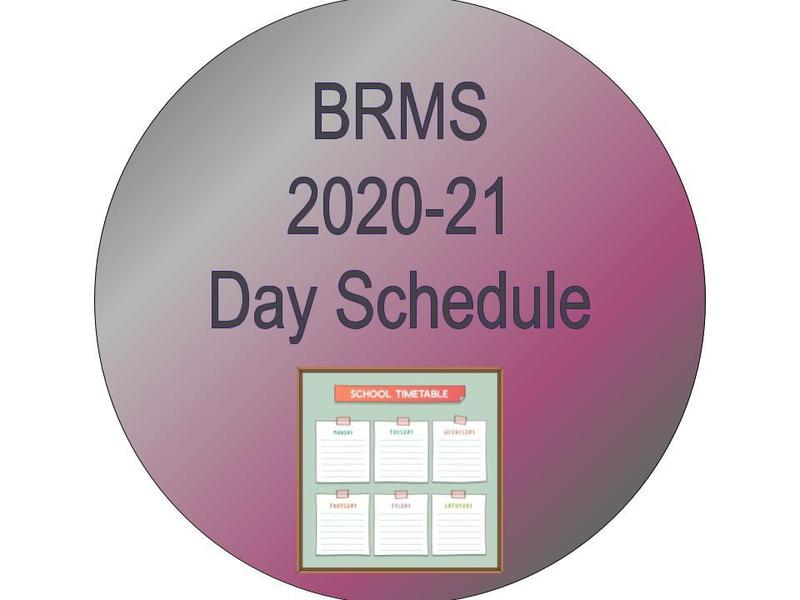 BRMS 2020-2021 Day Schedule Featured Photo