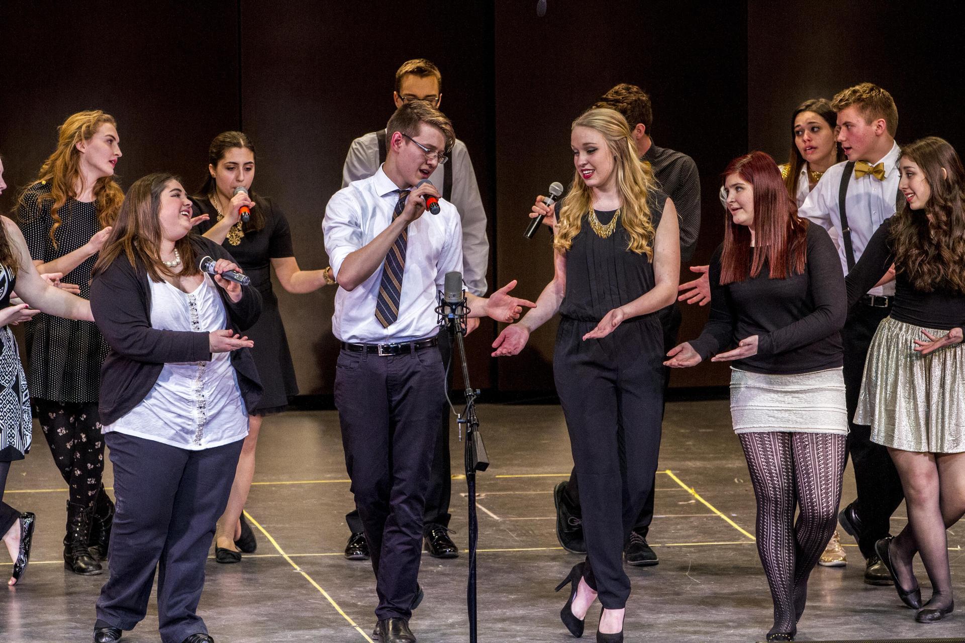 Trebels perform at Variety Show