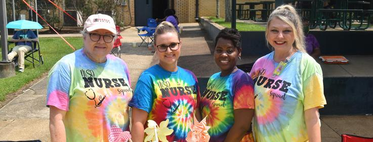 The nurses of the McComb School District.