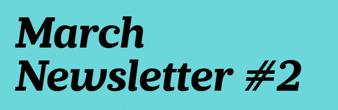 Letter Head March Newsletter