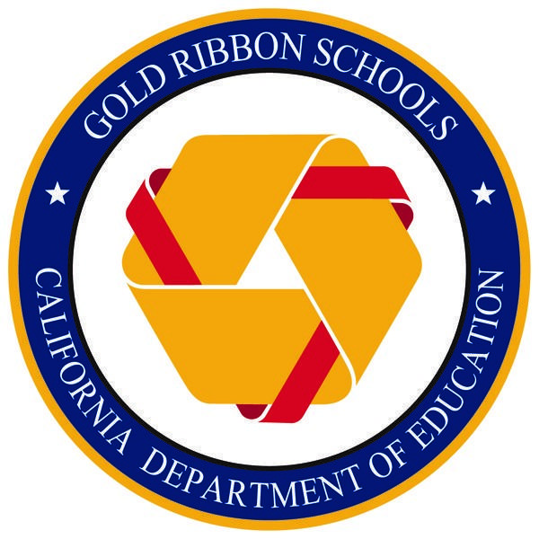 Gold Ribbon Schools of California Seal