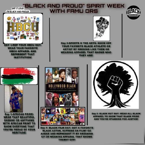 Black Pride Week Flyer February 2021