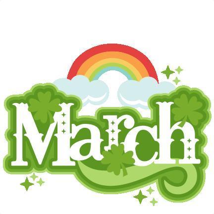 March Calendar Header