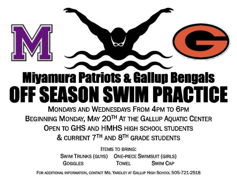 Swim Practice Featured Photo