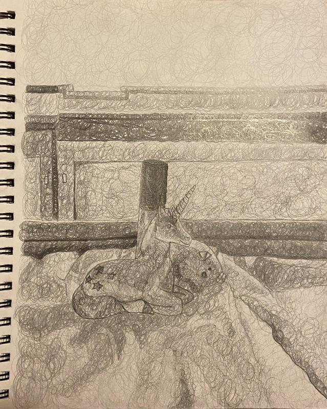 Textured Value Drawing 12