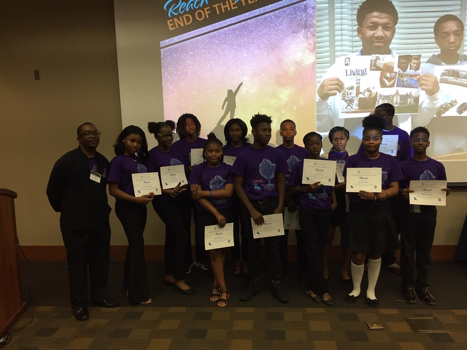 "PRAMS' LOSFA Mentees Honored at Annual end-of-the-year ""ASPIRE to INSPIRE"" Luncheon"