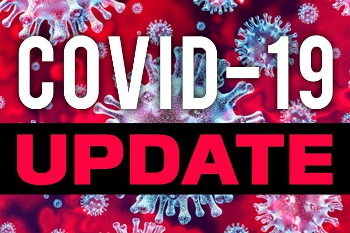 A Graphic that says COVID-19 Update