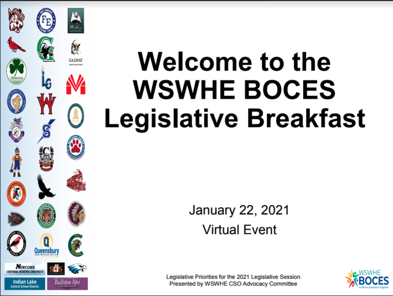 Legislative breakfast image