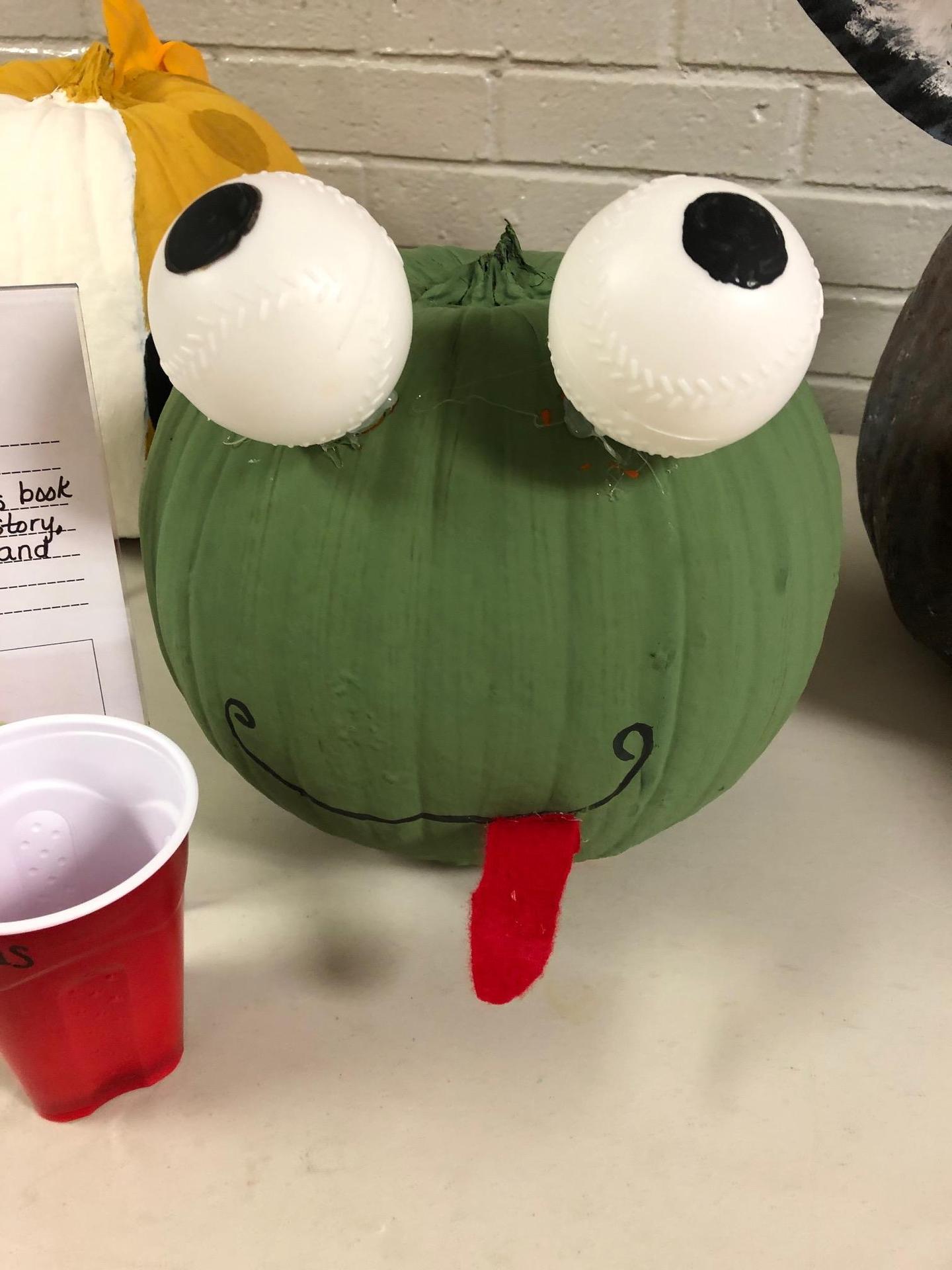 Froggy pumpkin