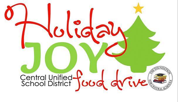 Holiday Joy Food Drive logo