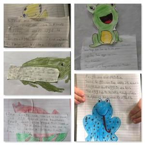 Frog assignments collage