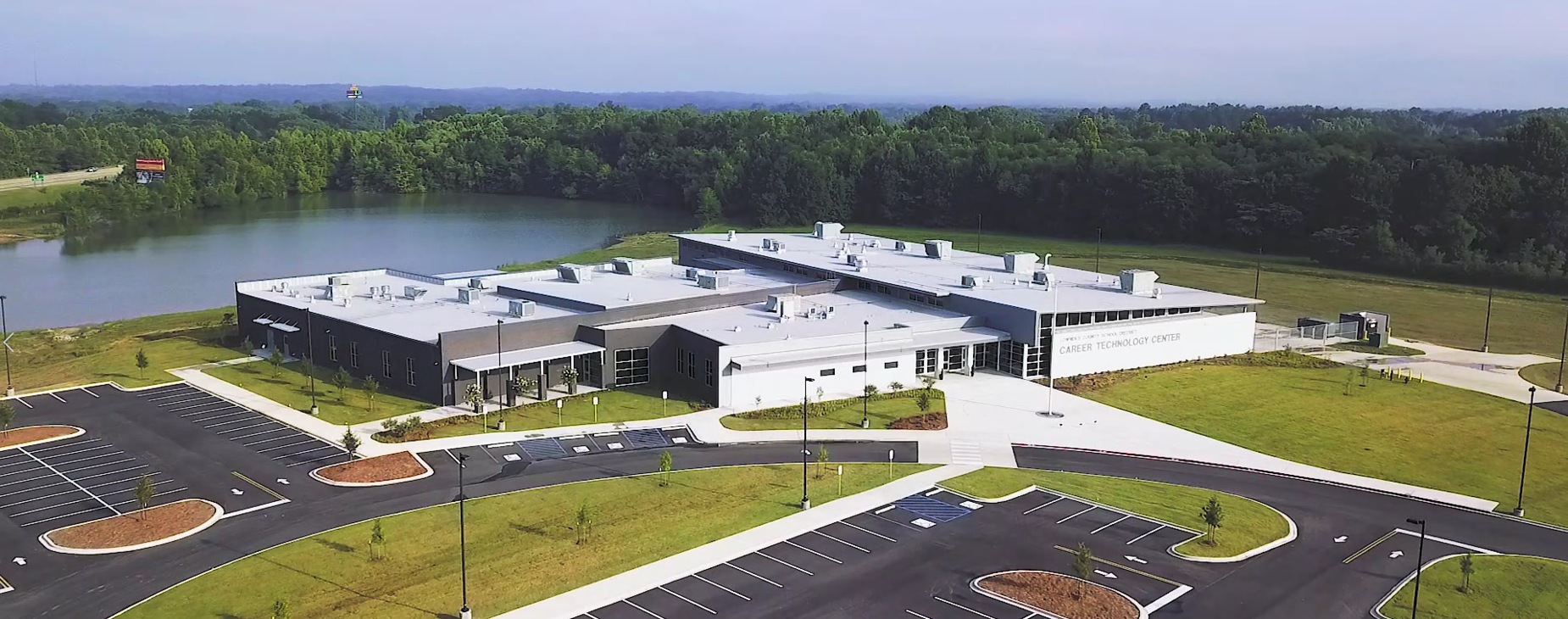 Lowndes County Career Tech Center Aerial