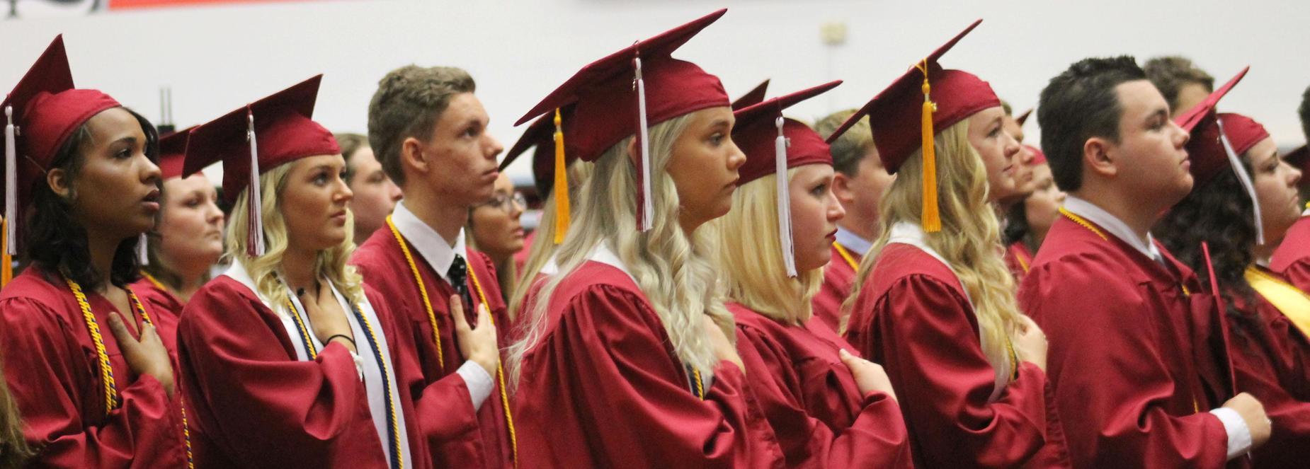 Cheatham County Central High School graduation