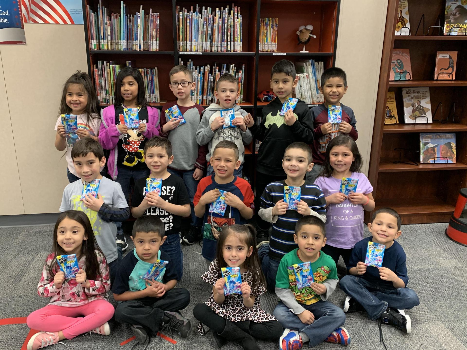 Dr. Seuss Challenge K-5 winners