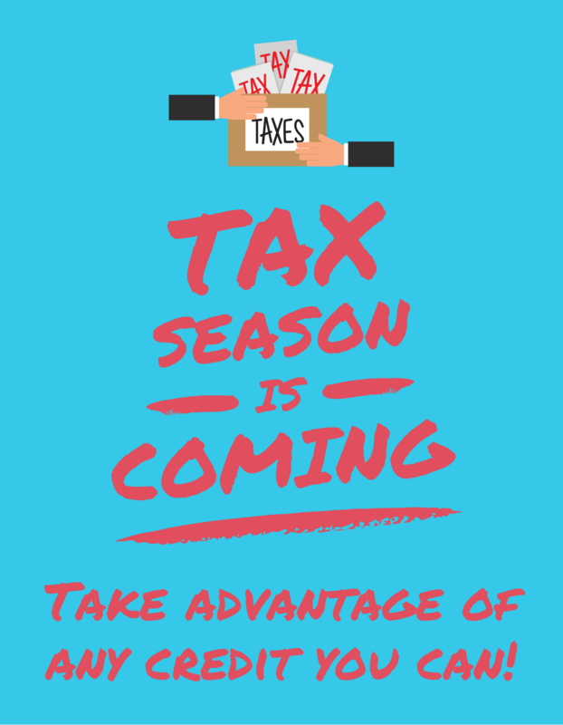 2020 Taxes & Tax Credit Featured Photo