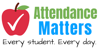 picture saying attendance matters