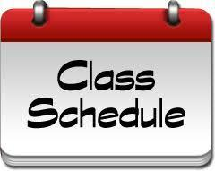 CLASS SCHEDULES WILL BE AVAILABLE ON AUGUST 4TH. Featured Photo