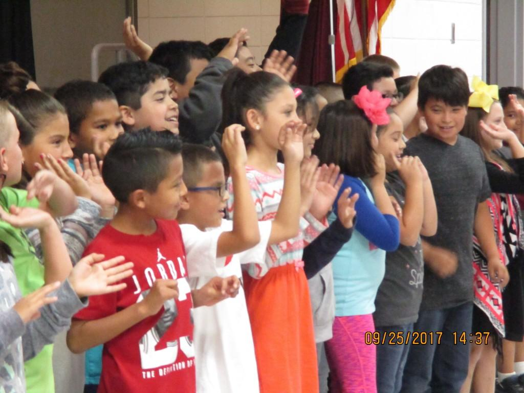 4th graders sing about the olweus rules